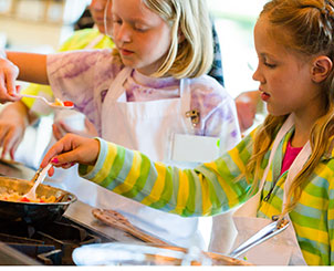 kochende kinder